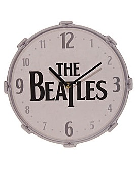 Licensed Beatles Drum Design Wall Clock