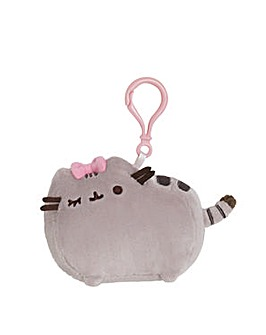 Gund Pusheen Clip Bow Soft Toy