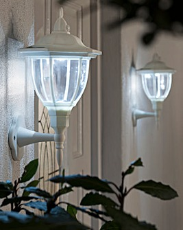 Solar Powered 2-in-1 Welcome Light