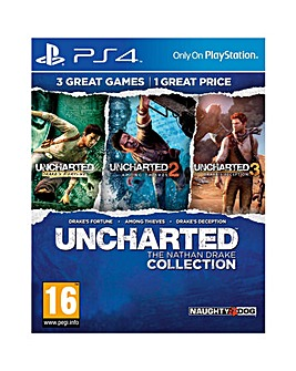 Uncharted The Nathan Drake CollectionPS4