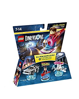 Lego Dimensions Level Pk BackToTheFuture