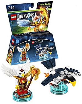 Lego Dimensions Chima Fun Pack Eris Fun