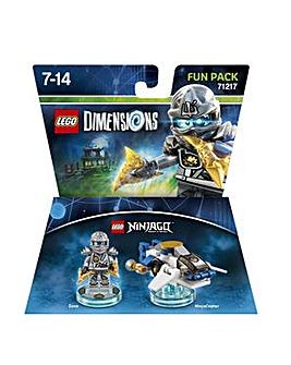 Lego Dimensions Ninjago Fun Pack - Zane