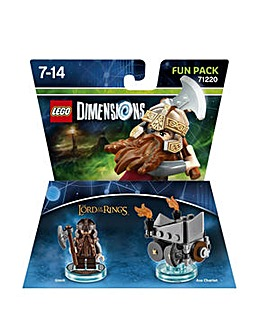 Lego Dimensions Lord Of The Rings Gimli