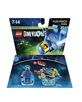 Lego Dimensions Lego Movie Fun Pk Benny