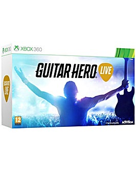 Guitar Hero Live Inc Game and GuitarX360