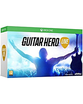 Guitar Hero Live Inc Game and Guitar XB1