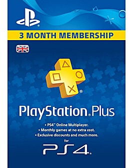 PS PLUS 90 Day Membership PS4