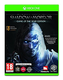 Middle Earth Shadow Of Mordor GOTY XB1