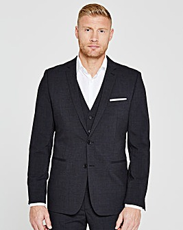 Flintoff By Jacamo Slim Suit Jacket L