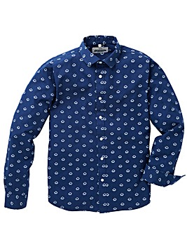 Jacamo Vapor Printed L/S Shirt Regular