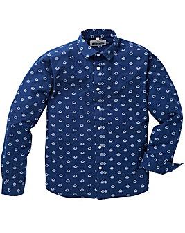 Jacamo Vapor Printed L/S Shirt Long