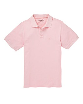 Capsule Pink Embroidered Polo Regular