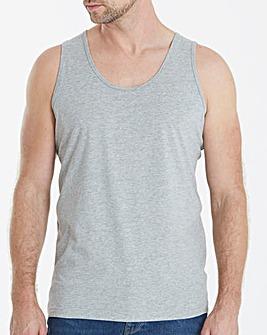 Capsule Grey Marl Vest