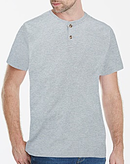 Capsule Grey Grandad T-Shirt Long