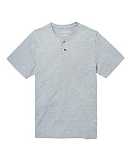 Capsule Grey Grandad T-Shirt Long