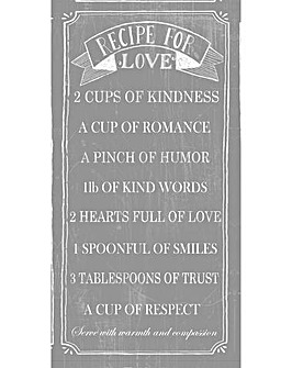 Arthouse Recipe For Love Canvas