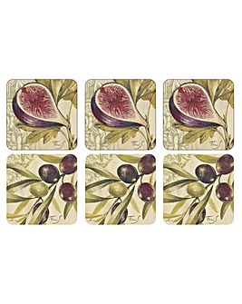 Pimpernel Olives & Figs Coasters