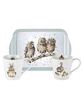 Wrendale Designs Mug & Tray Set