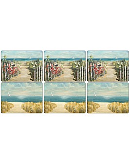 Pimpernel Summer Ride Placemats