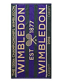 Wimbledon Christy Championship Towel