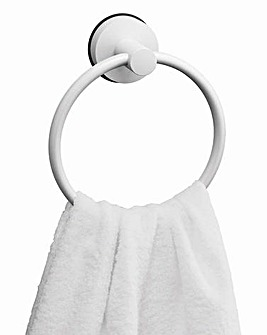 Gecko Towel Ring White