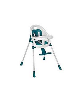 Mamas & Papas Teal Bop 2-in-1 Highchair.