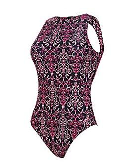 Zoggs Renaissance Hi Front Swimsuit