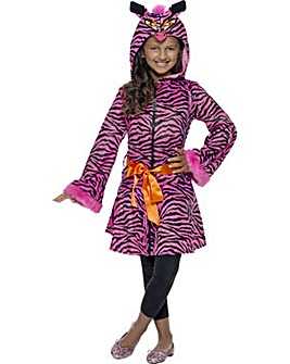 Halloween Girls Zebra Sass Jacket