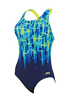 Zoggs Challenger Flyback Swimsuit
