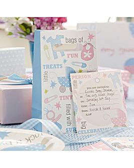 Tiny Feet Party Bags & Invitations