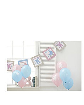 Tiny Feet Baby Shower Decorating Kit