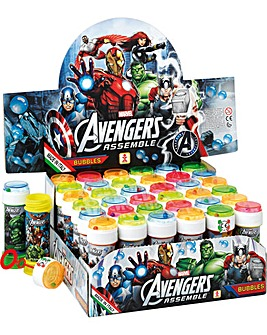 Bubble Tubs Avengers 16 x 60ml