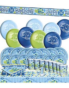 Boys 1st Birthday Turtle Party Kit