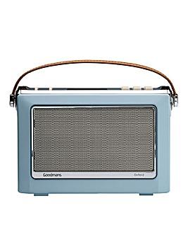 Goodman DAB Radio - Lt Blue
