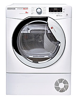 Hoover 8kg Condenser Dryer White