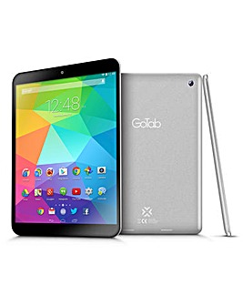 GoTab 7.85in Quad Core Tablet Silver