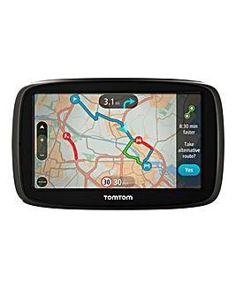 TomTom 5.0in Sat Nav With Traffic & Maps