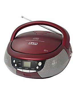 JDW CD/Radio Red