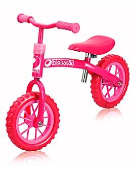 Hauck EZ Rider 10inch Balance Bike Pink
