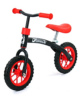 Hauck EZ Rider 10 inch Balance Bike Red