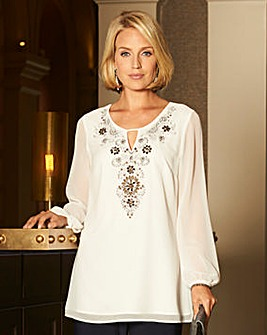 Nightingales Beaded Tunic