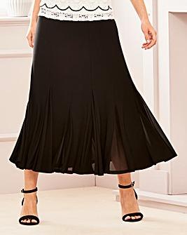 Mesh Insert Skirt