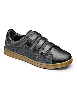 JCM Sports T&C Felt Trainers Std Fit