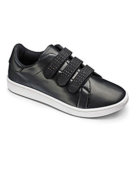 Be Active T&C Diamante Trainers EEE Fit