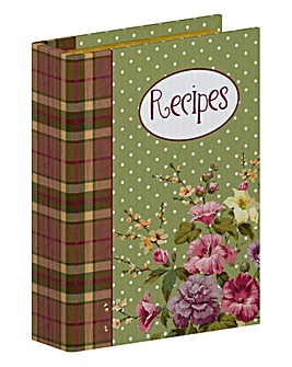 Katie Alice Highland Fling Recipe Box