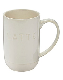 La Cafetiere Origins Stoneware Latte Mug