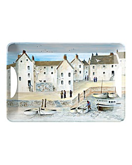 Cornish Harbour Large Melamine Tray