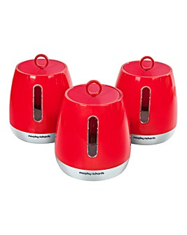 Morphy Richards Chroma Set 3 Canisters