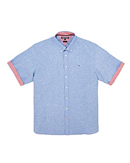 Tommy Hilfiger Mighty Cotton Linen Shirt